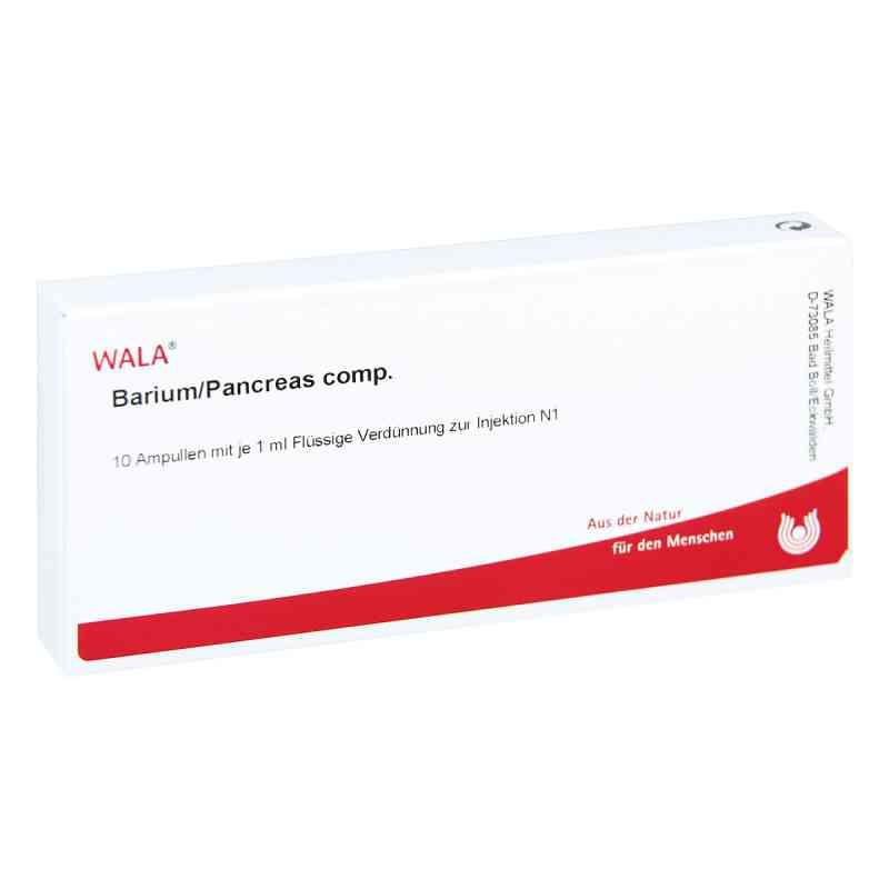 Barium/pancreas Comp. Ampullen  bei apo-discounter.de bestellen