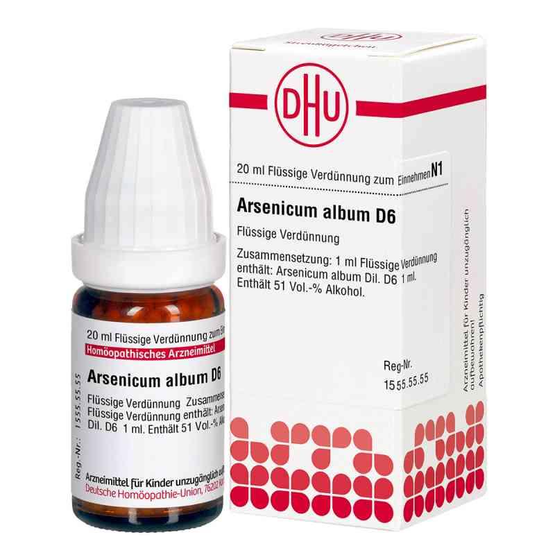 Arsenicum Album D6 Dilution  bei apo-discounter.de bestellen