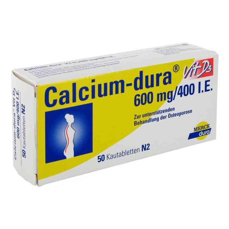 Calcium-dura Vit D3 600mg/400 internationale Einheiten  bei apo-discounter.de bestellen