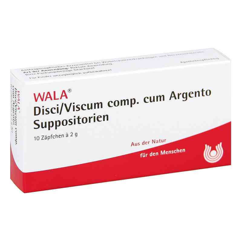 Disci/ Viscum Comp. cum Argento Suppositorien  bei apo-discounter.de bestellen