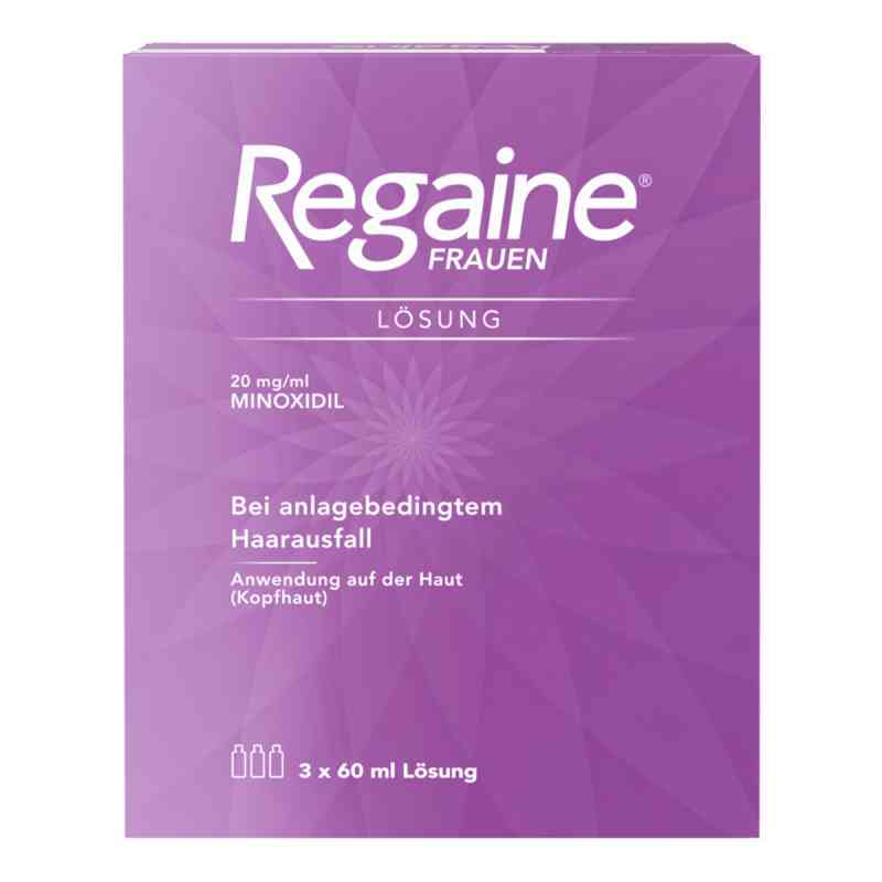 Regaine Frauen Lösung (3 Monats Packung) mit 2% Minoxidil  bei apo-discounter.de bestellen