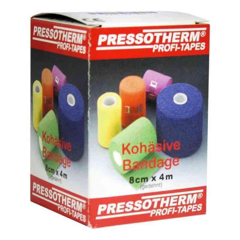 Pressotherm Kohäsive Bandage 8cmx4m grün  bei apo-discounter.de bestellen