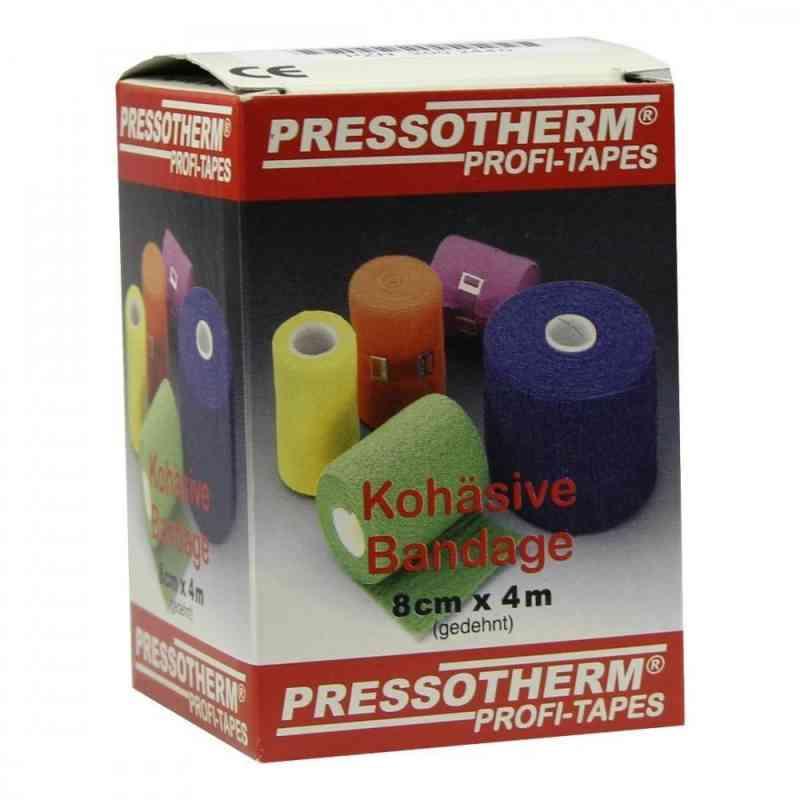 Pressotherm Kohäsive Bandage 8cmx4m blau  bei apo-discounter.de bestellen