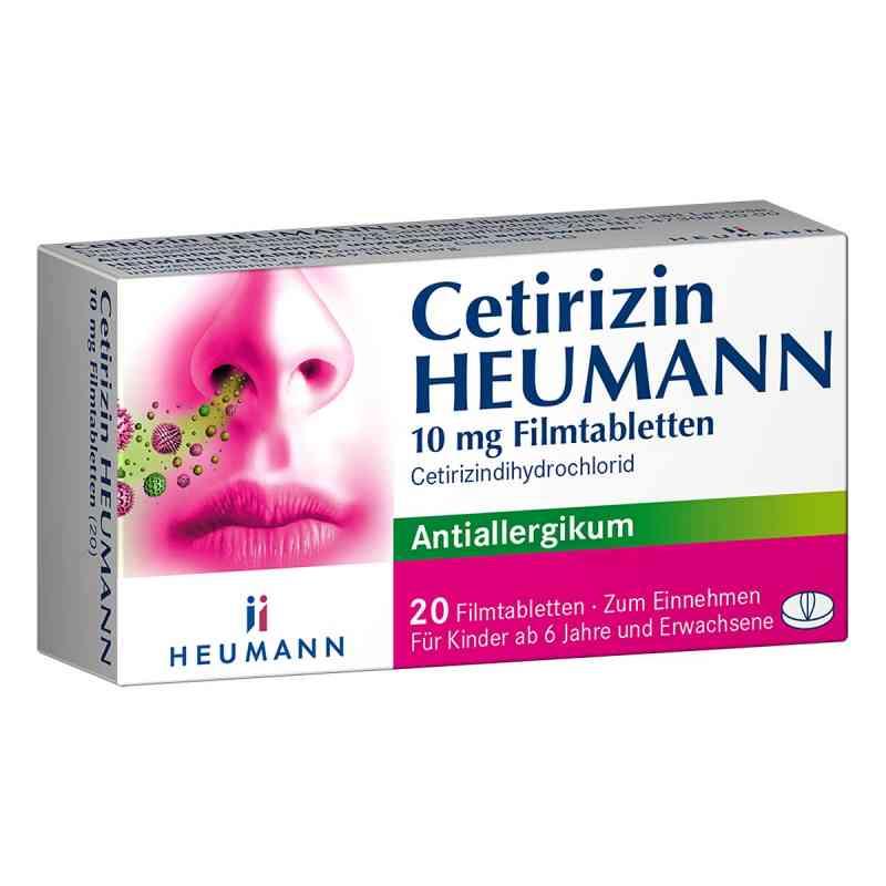 Cetirizin Heumann 10mg  bei apo-discounter.de bestellen