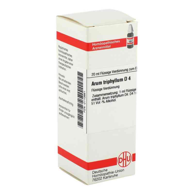 Arum Triphyllum D4 Dilution  bei apo-discounter.de bestellen
