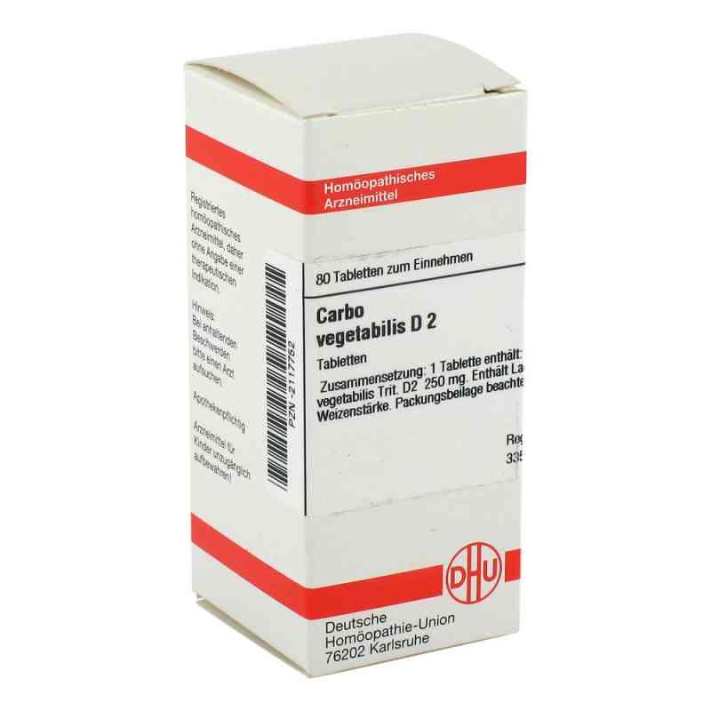 Carbo Vegetabilis D2 Tabletten  bei apo-discounter.de bestellen