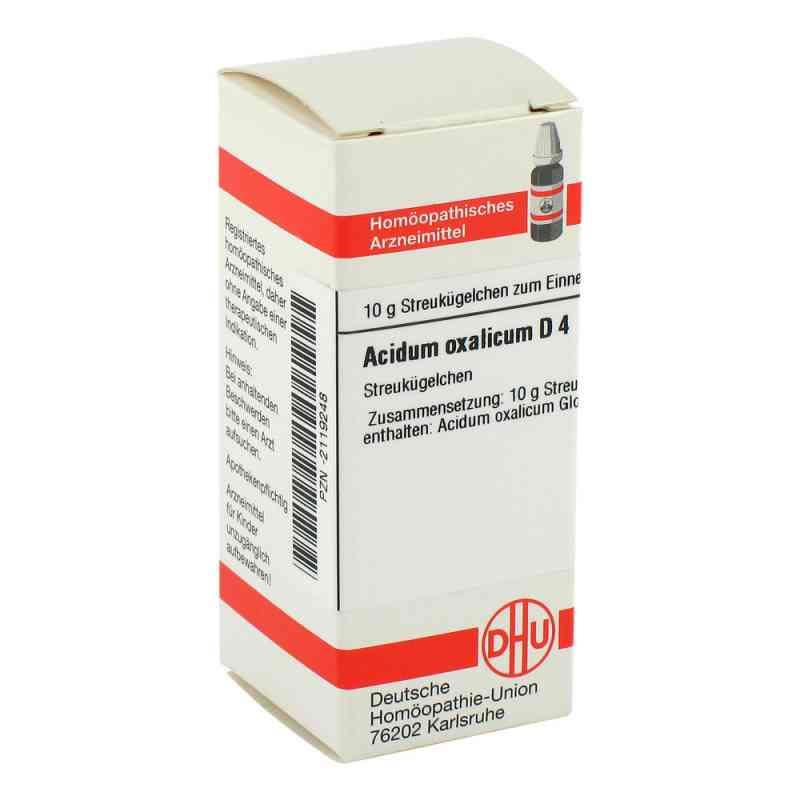 Acidum Oxalicum D 4 Globuli  bei apo-discounter.de bestellen