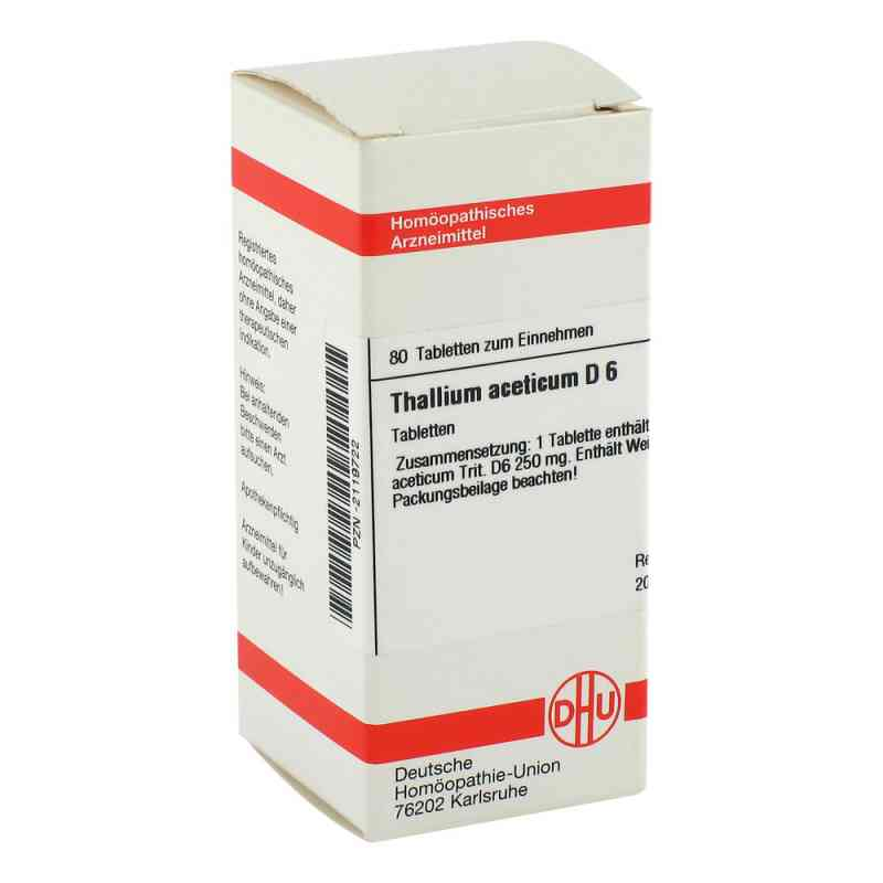 Thallium Acet. D6 Tabletten  bei apo-discounter.de bestellen