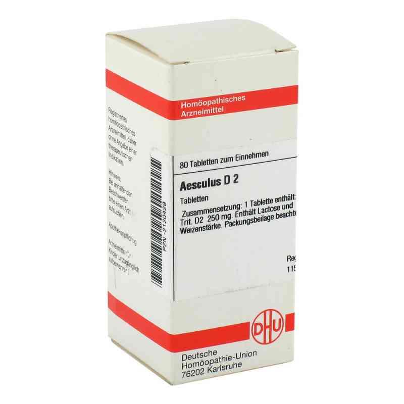 Aesculus D2 Tabletten  bei apo-discounter.de bestellen
