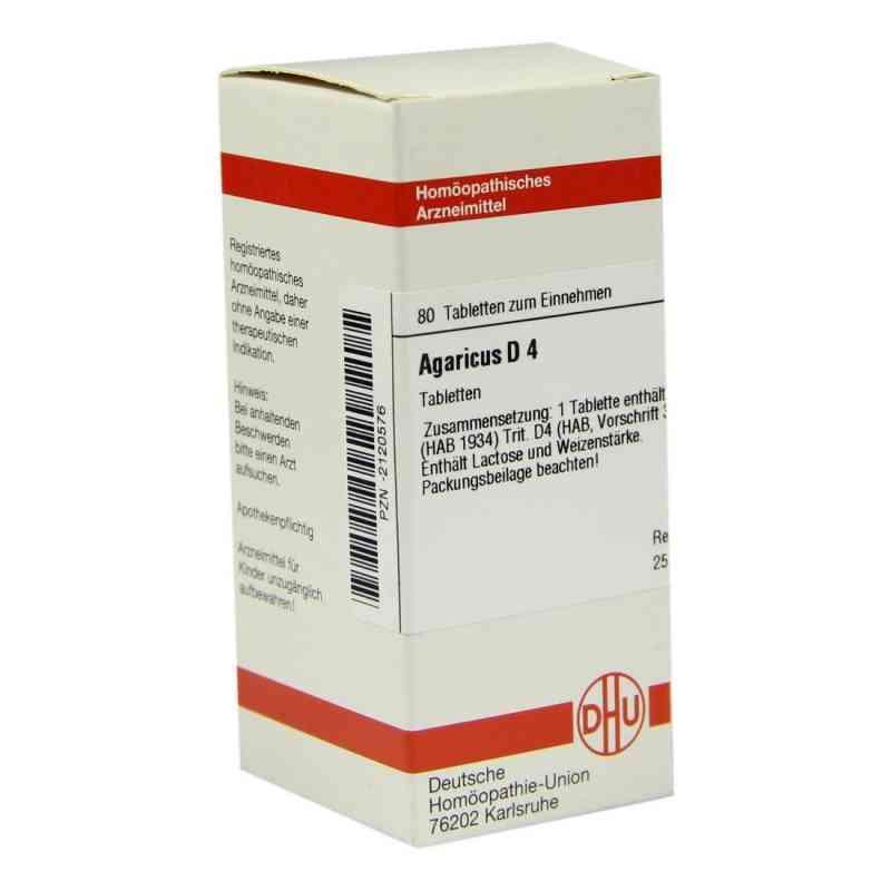 Agaricus D4 Tabletten  bei apo-discounter.de bestellen