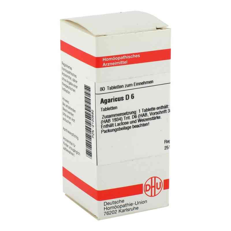 Agaricus D6 Tabletten  bei apo-discounter.de bestellen