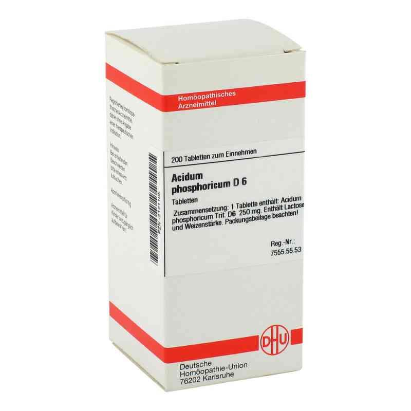 Acidum Phosphoricum D6 Tabletten  bei apo-discounter.de bestellen
