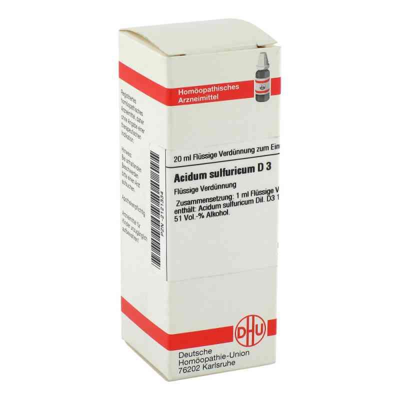 Acidum Sulfuricum D3 Dilution  bei apo-discounter.de bestellen