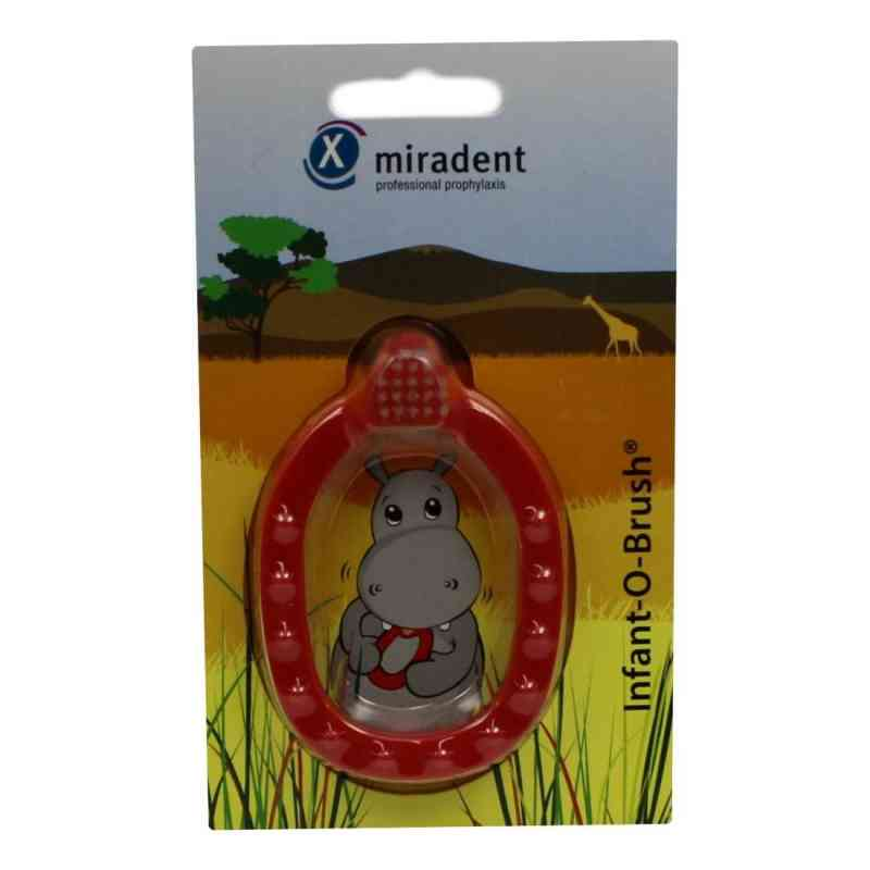 Miradent Kinder-lernzahnbürste Infant-o-brush rot  bei apo-discounter.de bestellen