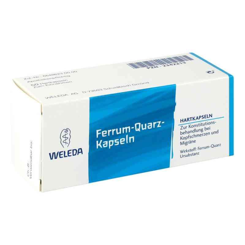 Ferrum Quarz Hartkapseln  bei apo-discounter.de bestellen
