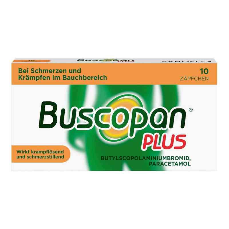 Buscopan PLUS Zäpfchen mit Paracetamol, bei Bauchschmerzen  bei apo-discounter.de bestellen