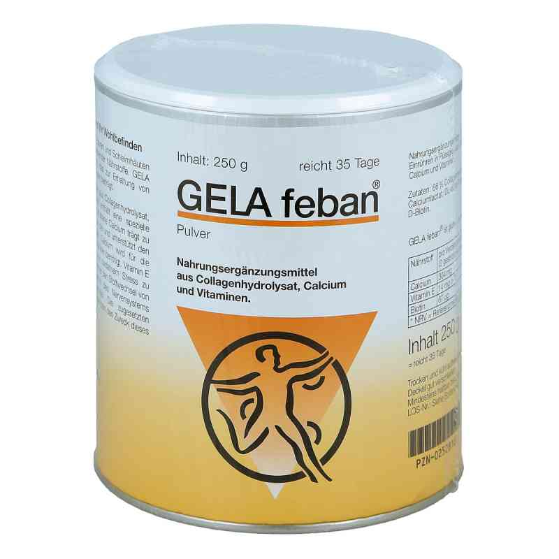 Gelafeban Pulver mit Gelatinehydrolysat plus  bei apo-discounter.de bestellen