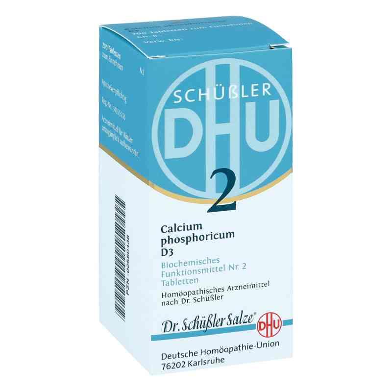 Biochemie Dhu 2 Calcium phosphorus D3 Tabletten  bei apo-discounter.de bestellen