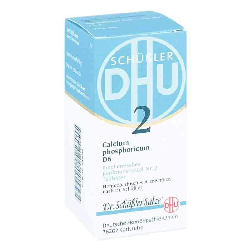 Biochemie Dhu 2 Calcium phosphorus D  6 Tabletten  bei apo-discounter.de bestellen