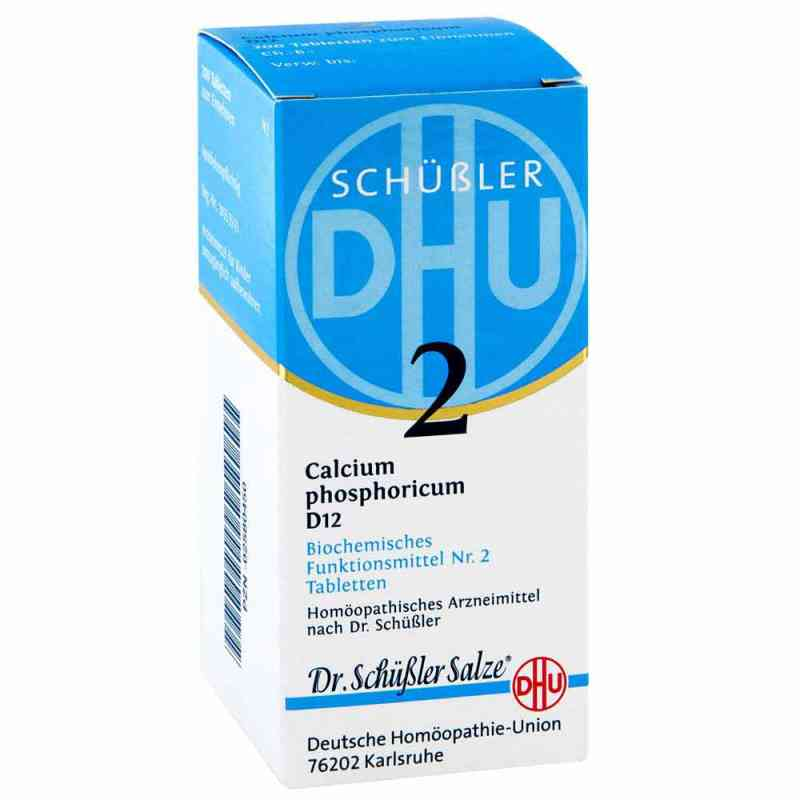 Biochemie Dhu 2 Calcium phosphorus D  12 Tabletten  bei apo-discounter.de bestellen