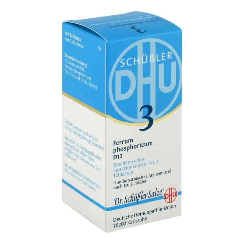Biochemie Dhu 3 Ferrum phosphorus D12 Tabletten  bei apo-discounter.de bestellen