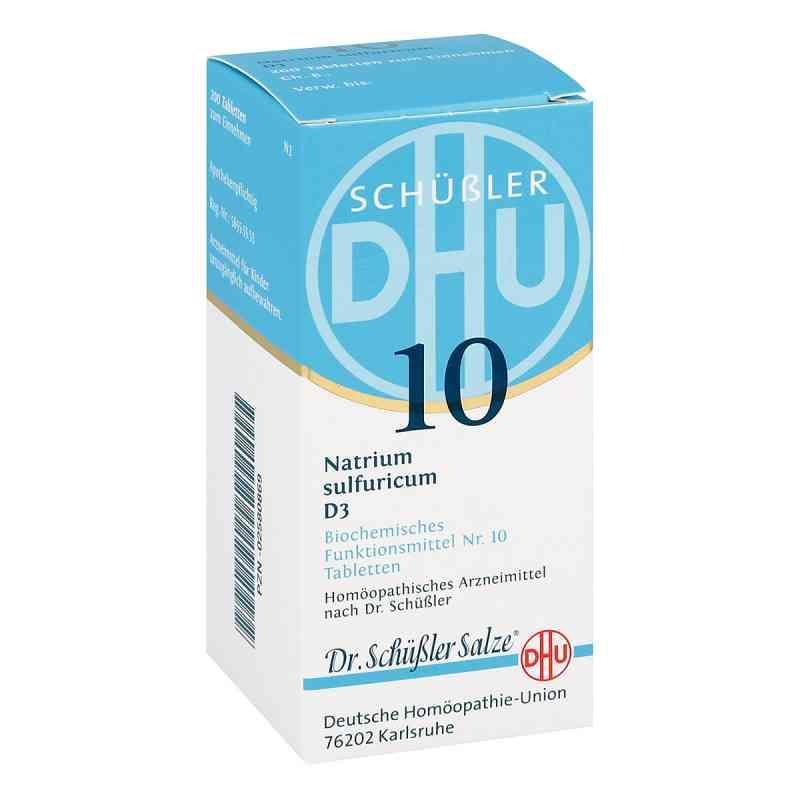 Biochemie Dhu 10 Natrium Sulfur D3 Tabletten  bei apo-discounter.de bestellen
