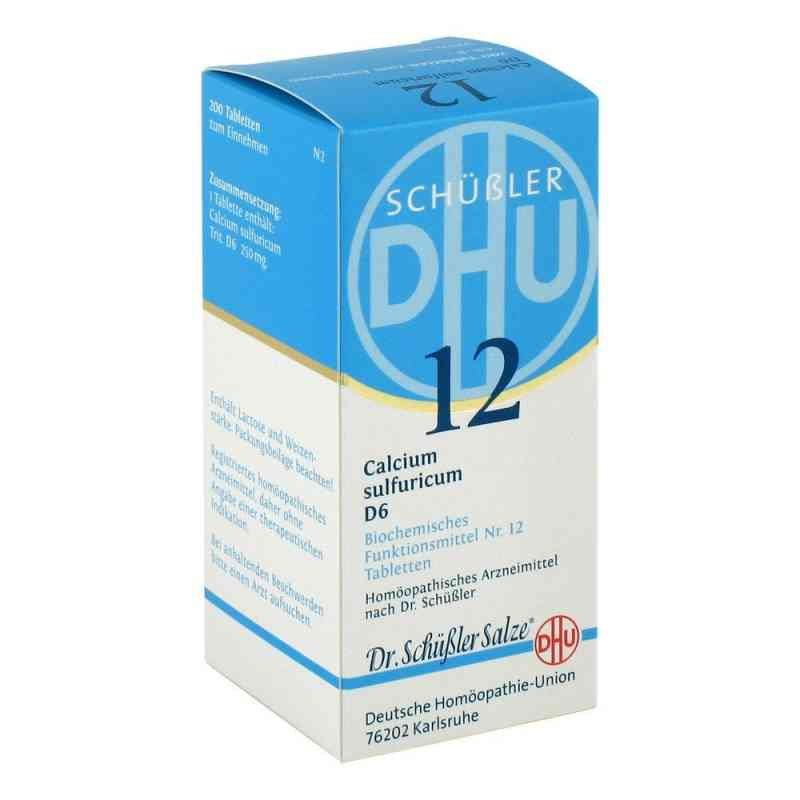 Biochemie Dhu 12 Calcium Sulfur D  6 Tabletten  bei apo-discounter.de bestellen