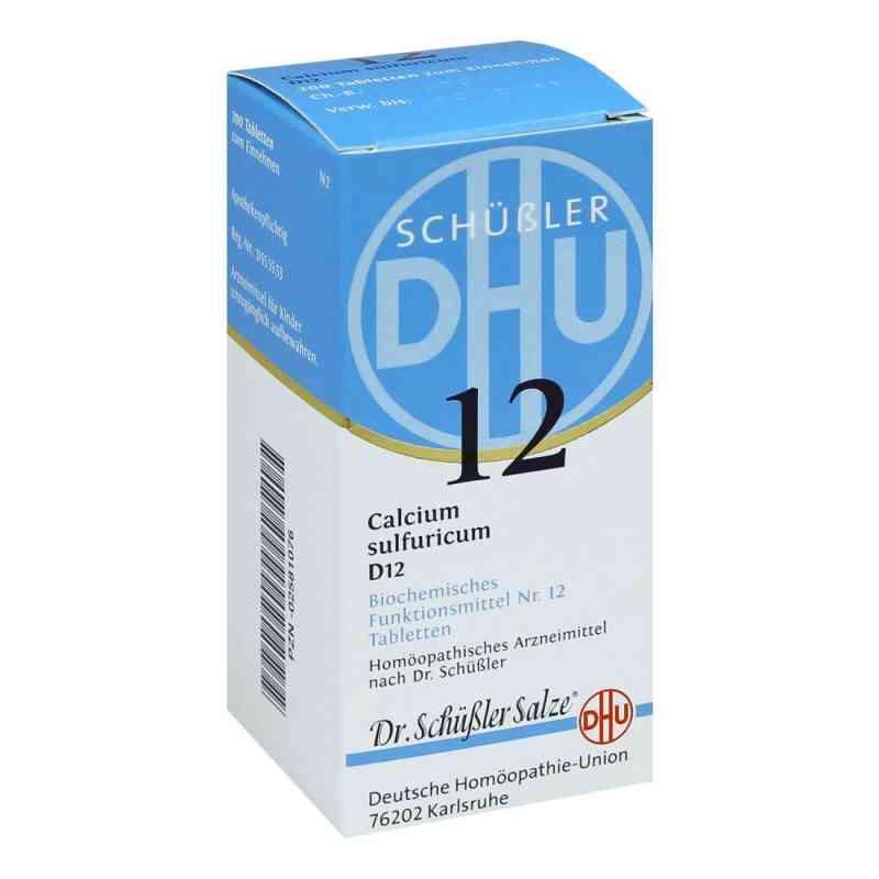 Biochemie Dhu 12 Calcium Sulfur D12 Tabletten  bei apo-discounter.de bestellen