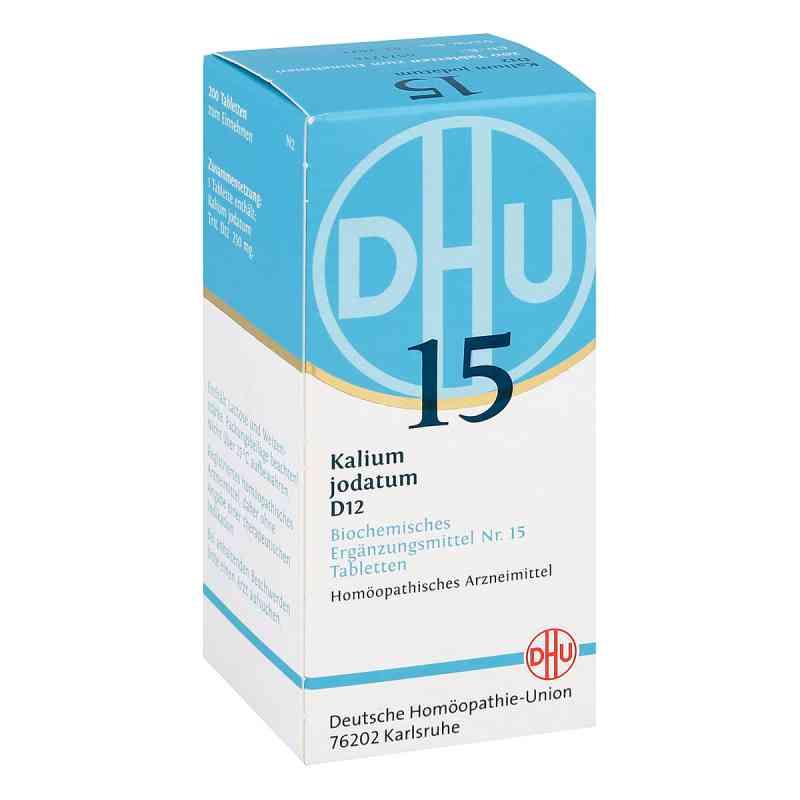 Biochemie Dhu 15 Kalium jodatum D 12 Tabletten  bei apo-discounter.de bestellen