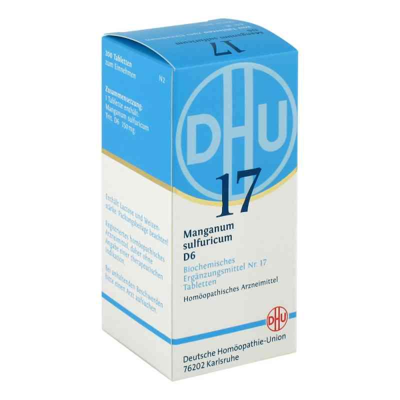 Biochemie Dhu 17 Manganum sulfuricum D 6 Tabletten  bei apo-discounter.de bestellen
