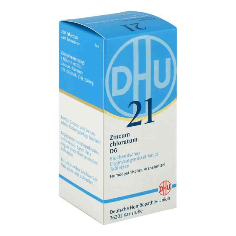 Biochemie Dhu 21 Zincum chloratum D6 Tabletten  bei apo-discounter.de bestellen