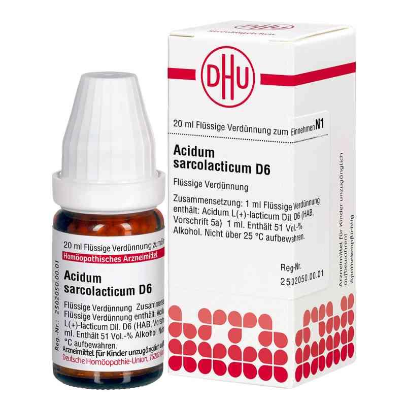Acidum Sarcolactic D6 Dilution  bei apo-discounter.de bestellen