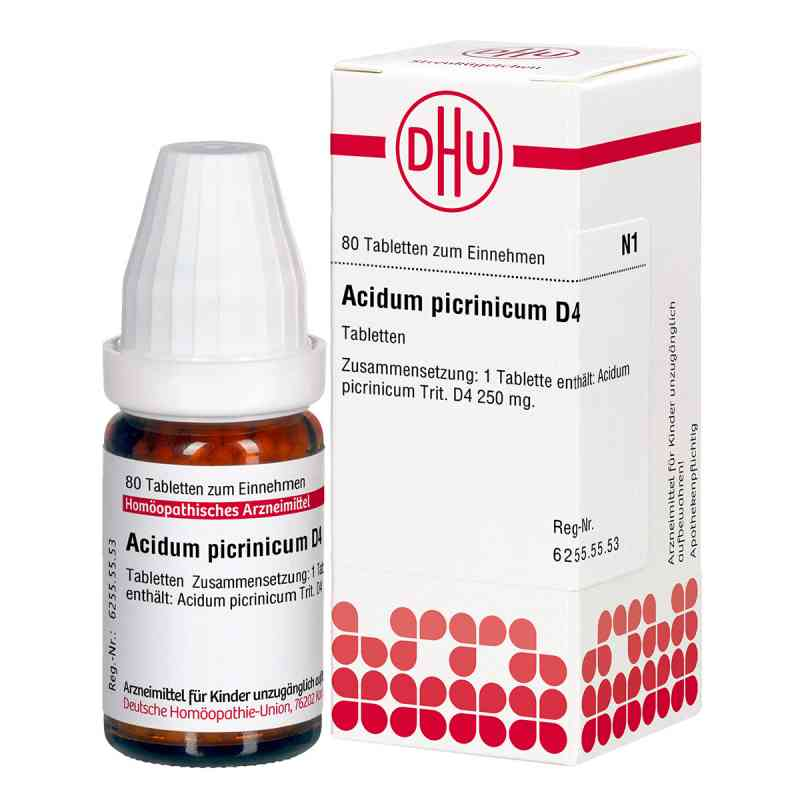 Acidum Picrinicum D4 Tabletten  bei apo-discounter.de bestellen