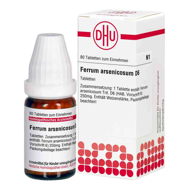 Ferrum Arsenicosum D6 Tabletten  bei apo-discounter.de bestellen
