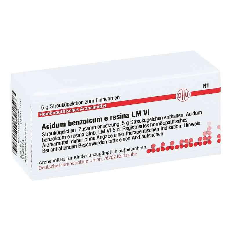 Lm Acidum Benzoicum E Res. Vi Globuli  bei apo-discounter.de bestellen
