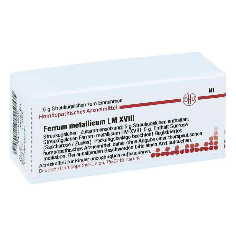 Lm Ferrum Metallicum Xviii Globuli  bei apo-discounter.de bestellen