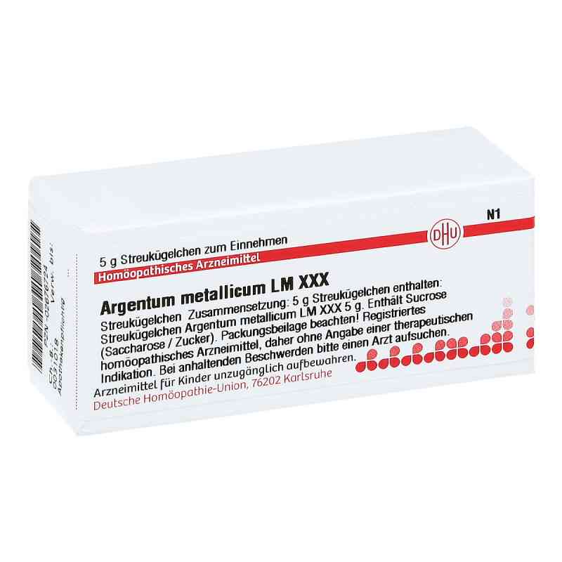 Lm Argentum Metallicum Xxx Globuli  bei apo-discounter.de bestellen