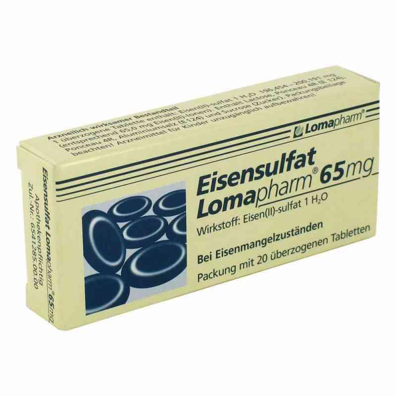 Eisensulfat Lomapharm 65mg  bei apo-discounter.de bestellen