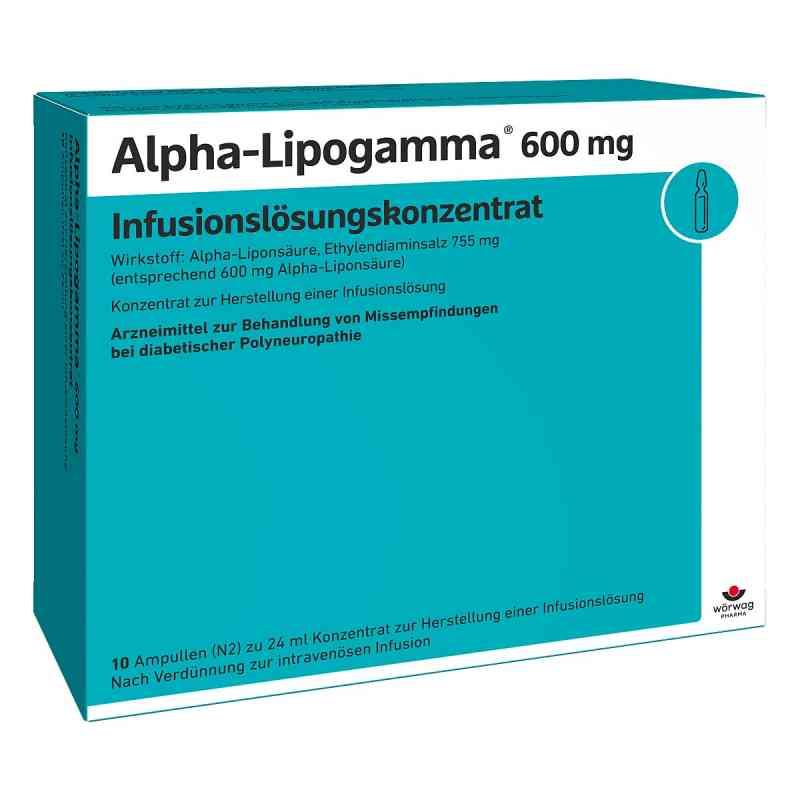 Alpha Lipogamma 600 Infusum lsg.konzentrat Infusum -lsg.  bei apo-discounter.de bestellen