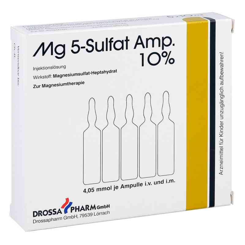 Mg 5 Sulfat Ampullen 10% Injektionslösung  bei apo-discounter.de bestellen