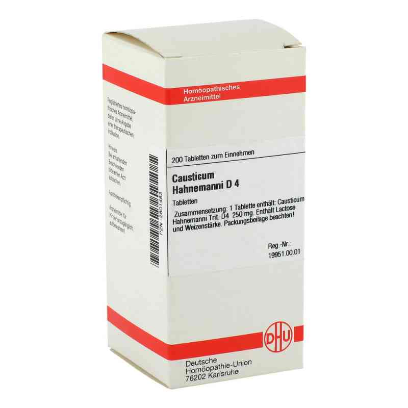 Causticum Hahnemanni D4 Tabletten  bei apo-discounter.de bestellen