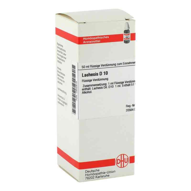 Lachesis D10 Dilution  bei apo-discounter.de bestellen
