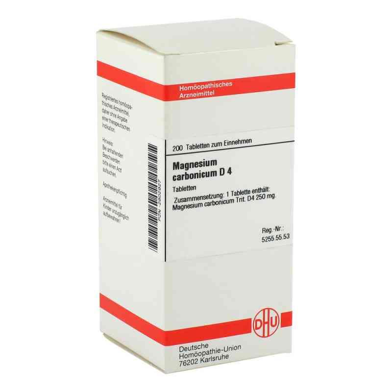Magnesium Carbonicum D4 Tabletten  bei apo-discounter.de bestellen