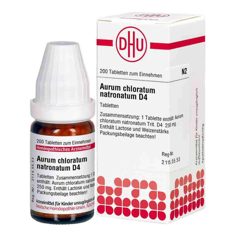 Aurum Chloratum Natronatum D4 Tabletten  bei apo-discounter.de bestellen