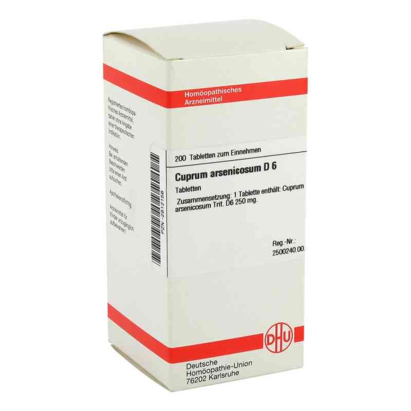 Cuprum Arsenicosum D6 Tabletten  bei apo-discounter.de bestellen