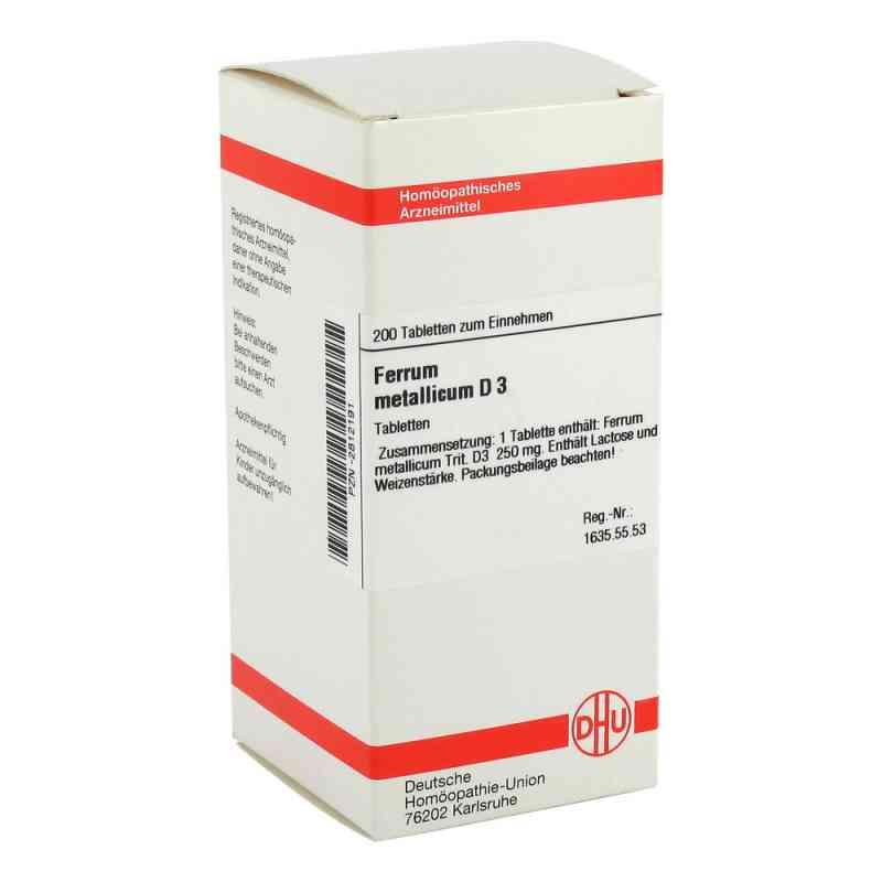 Ferrum Metallicum D3 Tabletten  bei apo-discounter.de bestellen