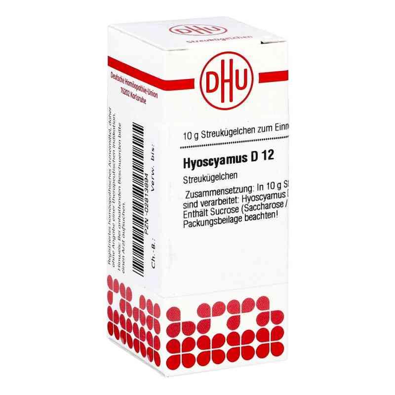 Hyoscyamus D 12 Globuli  bei apo-discounter.de bestellen