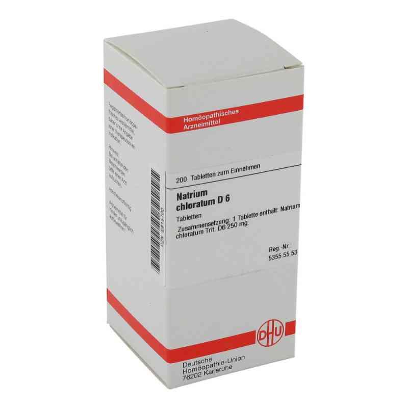 Natrium Chloratum D6 Tabletten  bei apo-discounter.de bestellen