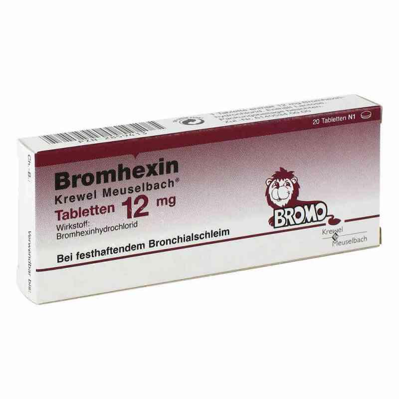 Bromhexin Krewel Meuselbach 12mg  bei apo-discounter.de bestellen