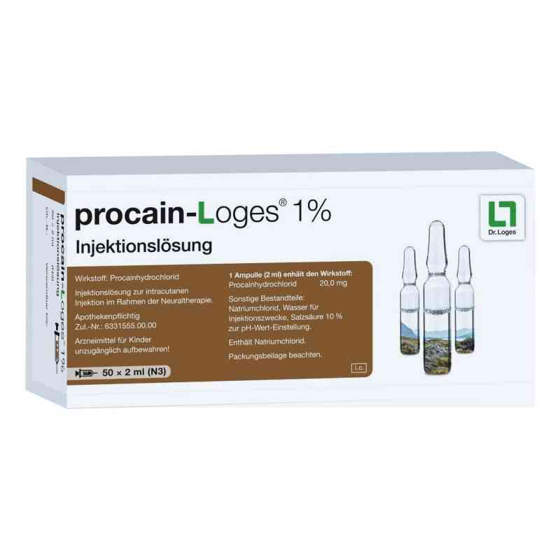 Procain Loges 1% Injektionslösung Ampullen  bei apo-discounter.de bestellen